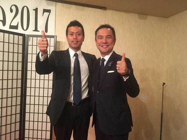 三重県知事・鈴木氏とのツーショット 赤﨑.jpg